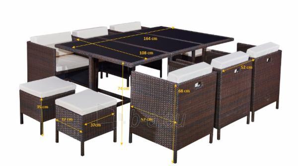 Lauko baldų komplektas CRISTALLO GRANDE. Paveikslėlis 2 iš 2 310820174069