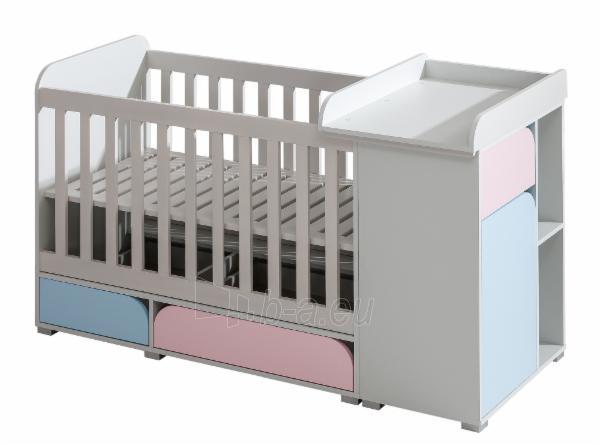 Kūdikio lovytė Mimo 5+4+6 Paveikslėlis 1 iš 4 310820174432