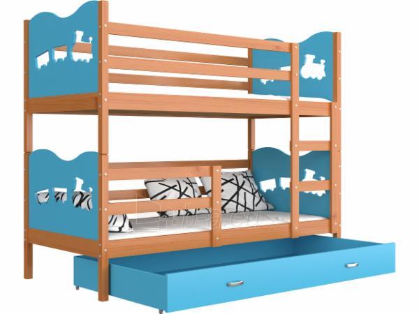 Vaikiška Dviaukštė Lova Max 160x80 Paveikslėlis 19 iš 24 310820178325