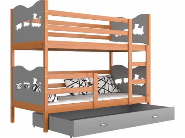Vaikiška Dviaukštė Lova Max 160x80 Paveikslėlis 20 iš 24 310820178325