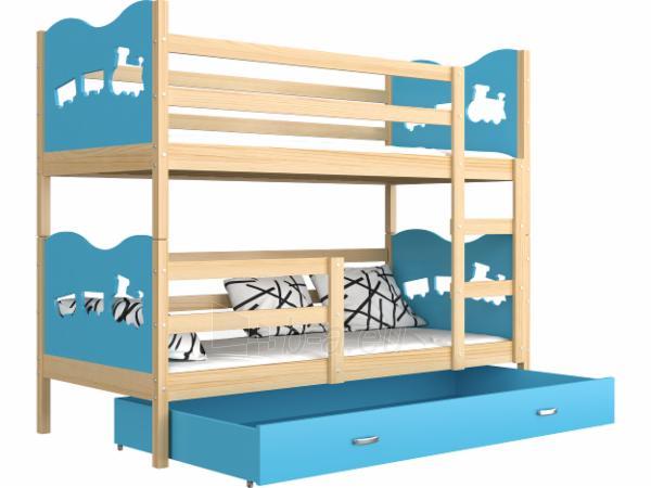 Vaikiška Dviaukštė Lova Max 160x80 Paveikslėlis 13 iš 24 310820178325