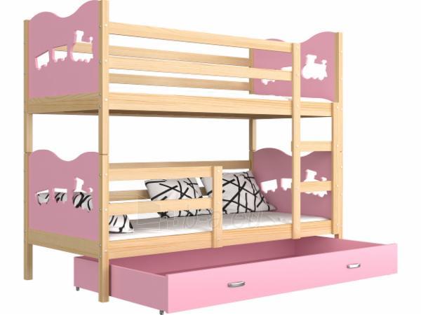 Vaikiška Dviaukštė Lova Max 160x80 Paveikslėlis 4 iš 24 310820178325