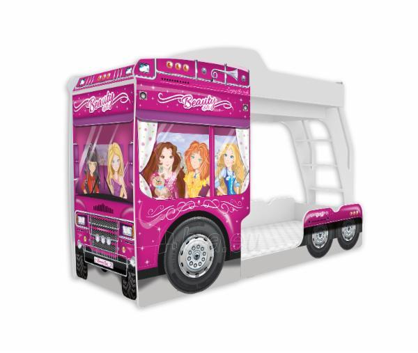 Vaikiška Dviaukštė Lova Mega Truck Paveikslėlis 8 iš 11 310820178328