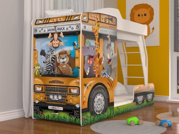 Vaikiška Dviaukštė Lova Mega Truck Paveikslėlis 7 iš 11 310820178328