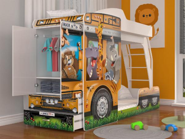 Vaikiška Dviaukštė Lova Mega Truck Paveikslėlis 6 iš 11 310820178328