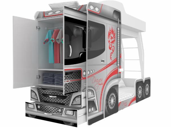 Vaikiška Dviaukštė Lova Mega Truck Paveikslėlis 4 iš 11 310820178328