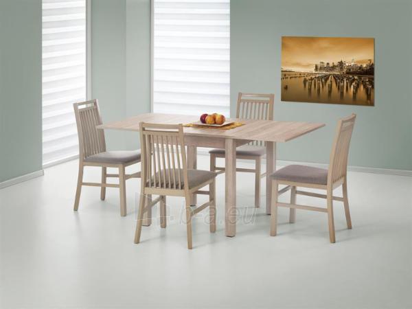 Valgomojo stalas Gracjan išskleidžiamas ąžuolas sonoma Paveikslėlis 1 iš 7 310820179515