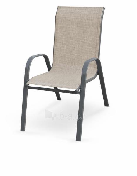 Lauko kėdė Mosler pilka Paveikslėlis 1 iš 1 310820179527