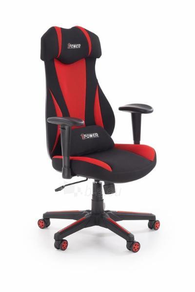 Žaidimų kėdė ABART juoda/raudona Paveikslėlis 1 iš 10 310820179572