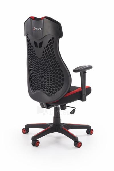 Žaidimų kėdė ABART juoda/raudona Paveikslėlis 9 iš 10 310820179572