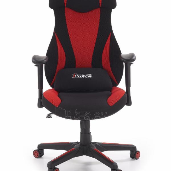 Žaidimų kėdė ABART juoda/raudona Paveikslėlis 3 iš 10 310820179572
