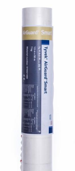 Plėvelė garo izoliacinė DuPont® Airguard Smart Paveikslėlis 1 iš 2 310820182004
