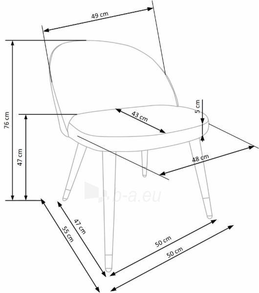 Valgomojo kėdė K315 Paveikslėlis 10 iš 13 310820182393