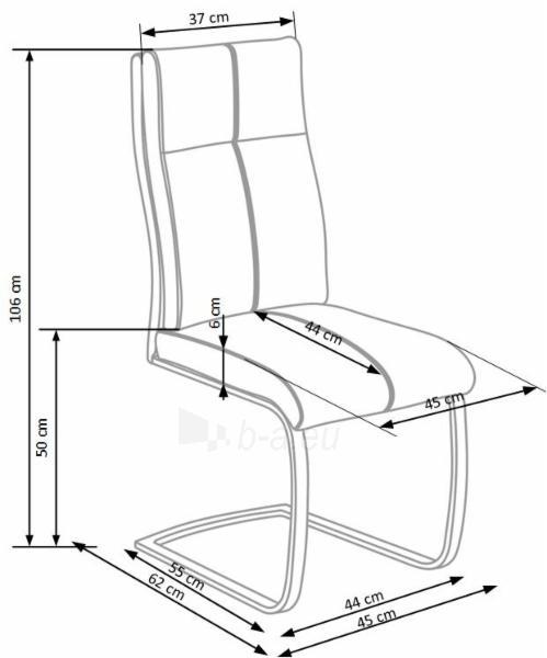 Valgomojo kėdė K345 Paveikslėlis 2 iš 2 310820182452
