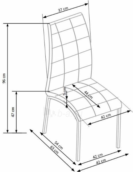 Valgomojo kėdė K347 Paveikslėlis 2 iš 2 310820182453