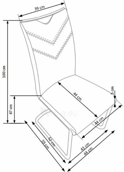 Valgomojo kėdė K352 Paveikslėlis 2 iš 2 310820182459
