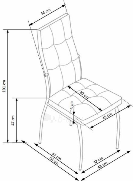 Valgomojo kėdė K353 Paveikslėlis 2 iš 2 310820182460