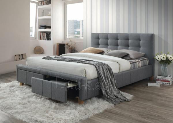 Miegamojo lova Ascot 160 Paveikslėlis 1 iš 2 310820183474