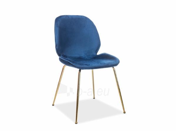 Valgomojo kėdė Adrien aksomas Paveikslėlis 2 iš 3 310820184031