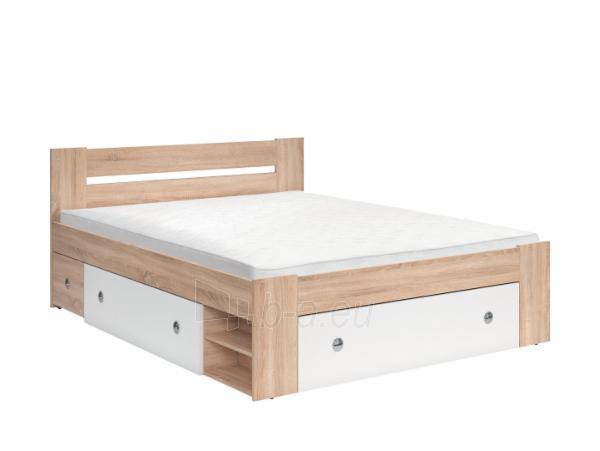Miegamojo lova Stefan 160 sonoma Paveikslėlis 1 iš 3 310820185161