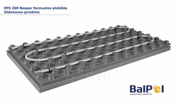 Polistirolas EPS200 NEOPOR 30x600x1200 Formuotos plokštės šildomoms grindims Paveikslėlis 1 iš 3 310820188831