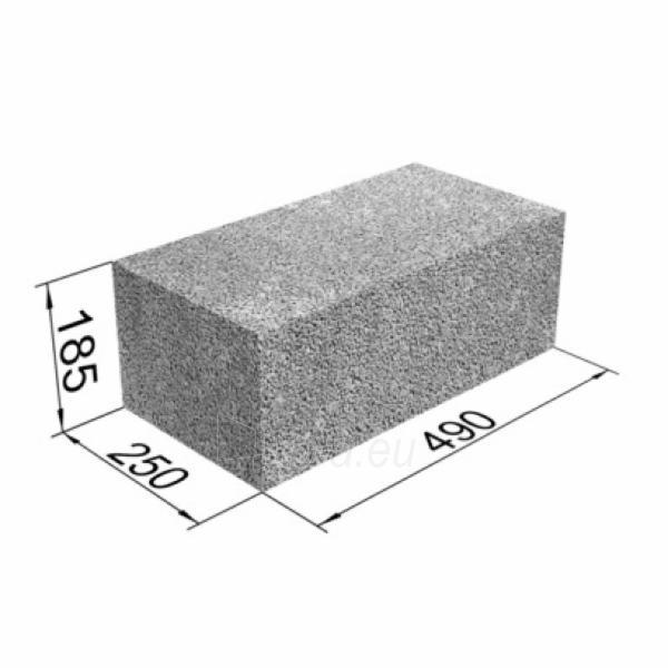 Blokai 'Fibo Proof', 490x185x250, 3 MPa Paveikslėlis 2 iš 2 310820191677