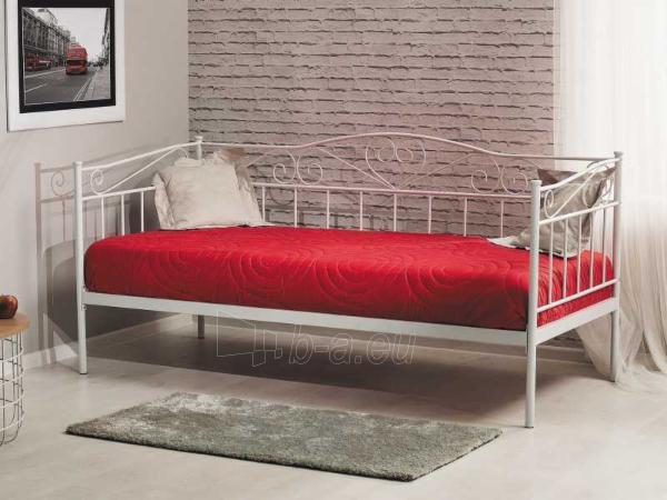 Miegamojo lova Birma balta Paveikslėlis 1 iš 1 310820196285