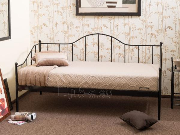 Miegamojo lova Dover 90 juoda Paveikslėlis 2 iš 2 310820196287