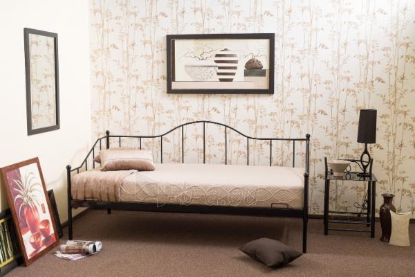 Miegamojo lova Dover 90 juoda Paveikslėlis 1 iš 2 310820196287