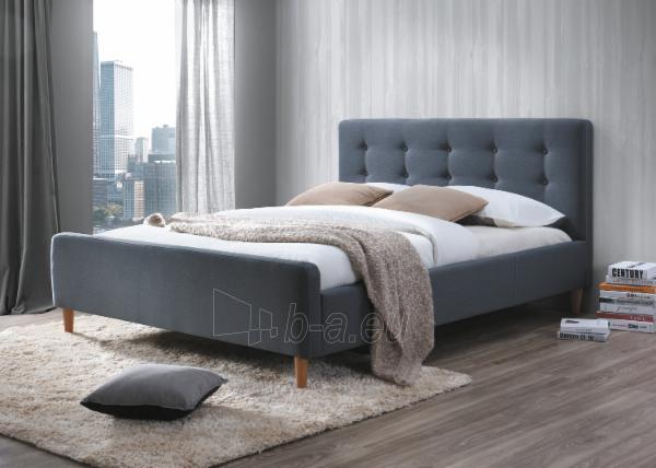 Miegamojo lova Pinko 160 pilka Paveikslėlis 1 iš 2 310820196293