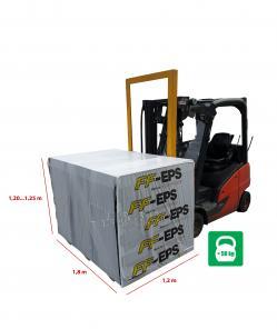 Polistireninis putplastis FF EPS 100 350x600x1200mm Frezuotas Paveikslėlis 2 iš 2 310820197406