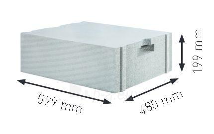 Blokeliai YTONG ENERGO+ (PP2/0.3) S+GT 599x199x480 Paveikslėlis 1 iš 1 310820198546