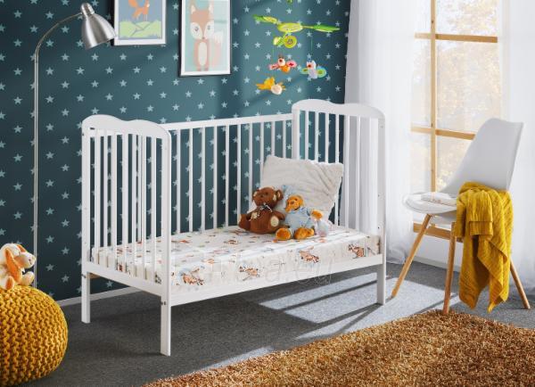 Vaikiška lovytė Ala II su čiužiniu Paveikslėlis 2 iš 3 310820203007