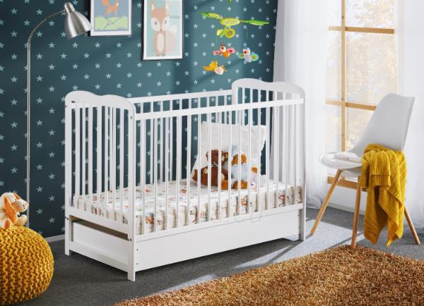 Vaikiška lovytė Ala II Plus su čiužiniu Paveikslėlis 2 iš 5 310820203010