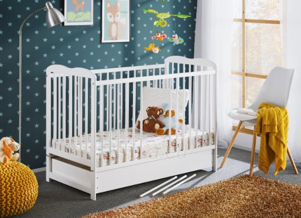 Vaikiška lovytė Ala II Plus su čiužiniu Paveikslėlis 1 iš 5 310820203010