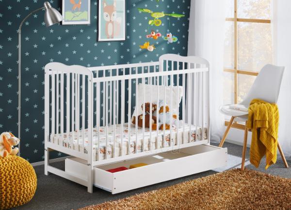 Vaikiška lovytė Ala II Plus su čiužiniu Paveikslėlis 3 iš 5 310820203010