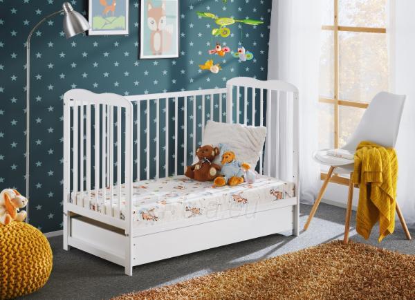 Vaikiška lovytė Ala II Plus su čiužiniu Paveikslėlis 5 iš 5 310820203010
