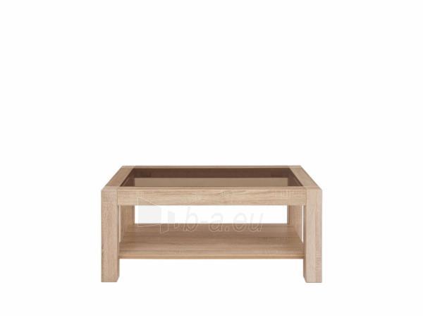 Svetainės staliukas RUMBI 2 106x64 sonoma Paveikslėlis 1 iš 2 310820206631