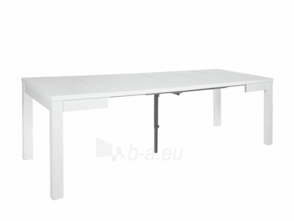 Valgomojo stalas OCEAN MAX 90 baltas Paveikslėlis 6 iš 9 310820206676