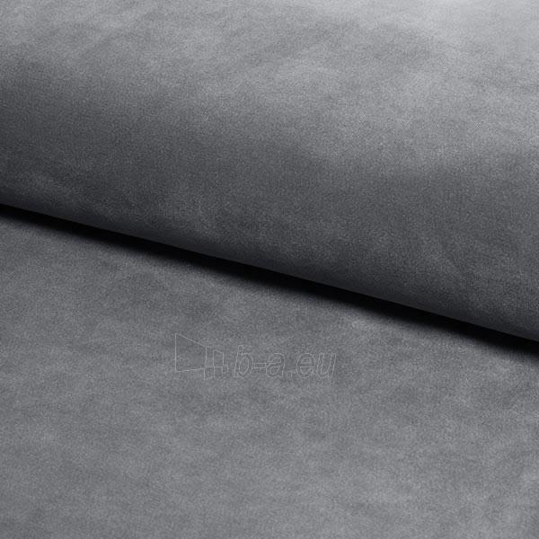 Miegamojo lova Aspen 140 aksomas pilka Paveikslėlis 2 iš 2 310820208288