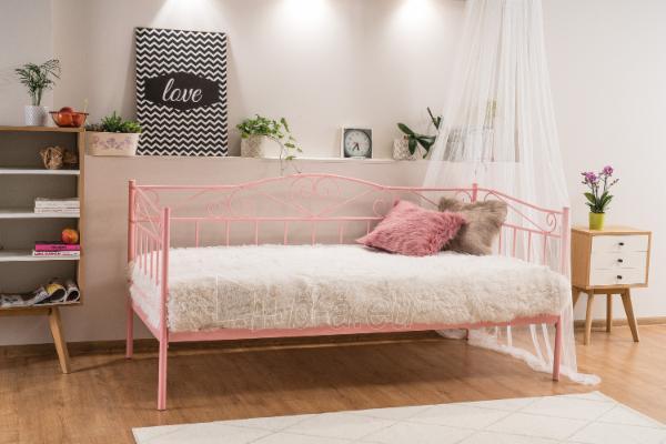 Miegamojo lova Birma rožinė Paveikslėlis 1 iš 1 310820208295