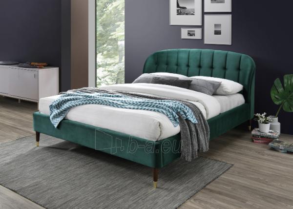 Miegamojo lova Liguria 160 aksomas Paveikslėlis 1 iš 2 310820208301