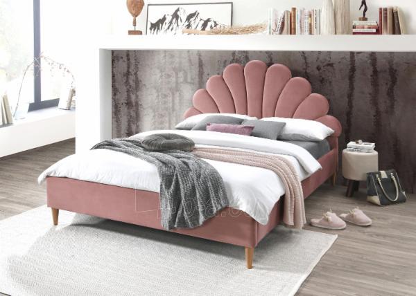 Miegamojo lova Santana 160 aksomas Paveikslėlis 1 iš 3 310820208311
