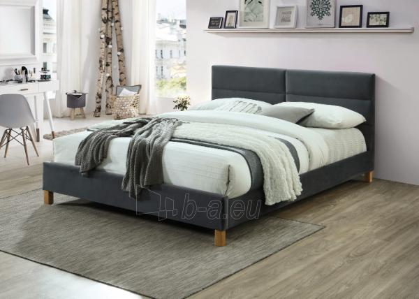 Miegamojo lova Sierra 160 aksomas Paveikslėlis 1 iš 1 310820208314