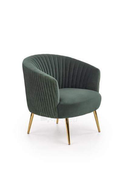 Fotelis Crown žalias Paveikslėlis 1 iš 7 310820209628