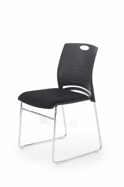 Biuro kėdė lankytojui Cali juoda Paveikslėlis 1 iš 2 310820209857