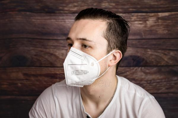 Apsauginė veido kaukė-respiratorius FFP2 (KN95) 10vnt Paveikslėlis 8 iš 12 310820210302