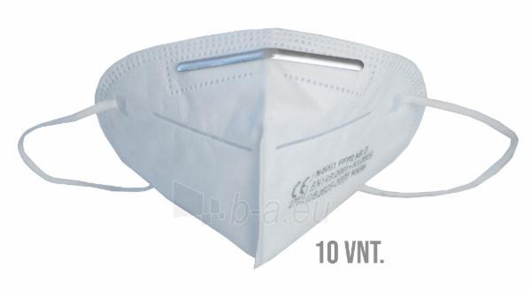 Apsauginė veido kaukė-respiratorius FFP2 (KN95) 10vnt Paveikslėlis 1 iš 12 310820210302
