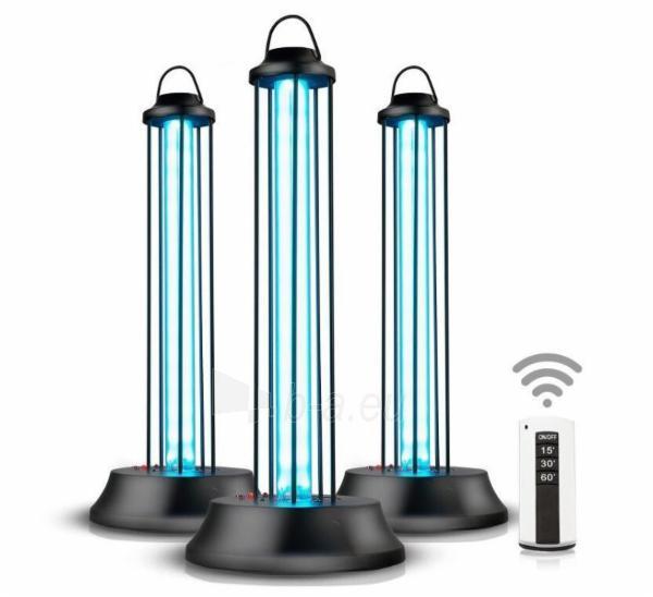 Stalinis UV spinduliavimo dezinfekcinis šviestuvas SG-SJ2, 38W, 220V su valdymo pulteliu Paveikslėlis 2 iš 3 310820210853