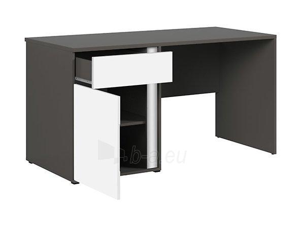 Rašomasis stalas Graphic BIU1D1SL/C pilkas/baltas Paveikslėlis 9 iš 11 310820213253